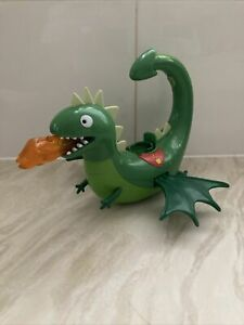PEPPA PIG FLAPPING WINGS & LIGHT UP DRAGON + PRINCE GEORGE PLASTIC FIGURE TOY
