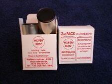 1 Pkg. Hofer Blitz Gleitwachs, Wax 2er Pack, Neu