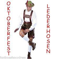 Oktoberfest German Lederhosen Fancy Dress Size Large Beer Festival