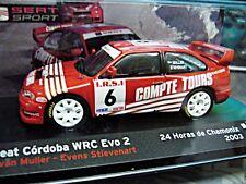 SEAT Cordoba WRC EVO 2 #9 Muller Chamonix 4x4 Sonderpreis IXO Altaya 1:43