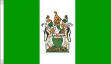 RHODESIA FLAG 5' x 3' Rhodesian Flags African Africa Old Zimbabwe