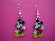 FUNKY MICKEY MOUSE EARRINGS RETRO KITSCH CUTE KAWAII CARTOON COOL NOVELTY GIFT