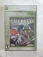 Call of Duty 2 -- Special Edition (Platinum Hits) (Microsoft Xbox 360, 2007) New