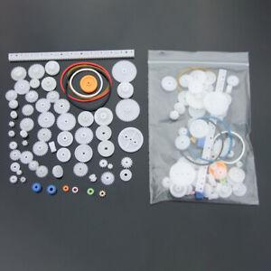 Cog Wheel Plastic Gear Pulley Innovative Intelligence Toy Motor Gearwheel Part