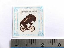 "2"" CYCLELOGICAL cycle logic USA Bike Ride Run Bicycle Outdoor  STICKER DECAL"
