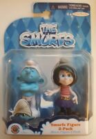 The Smurfs Movie Adorable 2 Character Set New & MIP Smurfette & Painter SEALED.