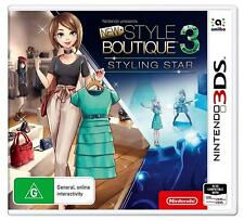 3ds Nintendo Game Style Boutique 3 Styling Star