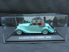 VOITURE MINIATURE SALMSON S4E CABRIO DE 1938  ECH 1/43 ETAT NEUF
