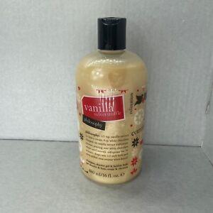Philosophy Vanilla Velvet Truffle 16.0 oz Shampoo, Shower Gel Bubble Bath NEW
