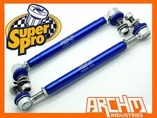 DAEWOO LACETTI J200 - 2002-2009 FRONT SUPERPRO ADJUSTABLE SWAY BAR LINK KIT