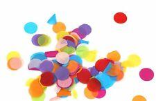 8000 X MULTI COULEURS Confettis papier tissu Scraps Anniversaire Mariage Fête