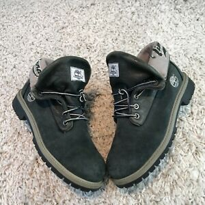 Timberland Womens Shoes UK 5 Eur 37.5 Grey Leather  Ankle Boots Combat Hiking