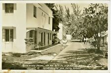Miami FL The Ritzhaven Court, 650 NE 90th Street on Biscayne Blvd RPPC