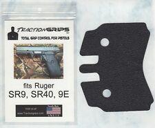 Tractiongrips brand grips for Ruger SR9, SR40, 9E pistols / rubber grip set