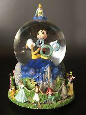 "Disney Mickey Mouse Millennium (2000) Snowglobe ""Celebrate the Future"""