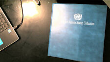 UNITED NATIONS COLLECTION IN MYSTIC ALBUM, ALL MINT, MOSTLY MNH