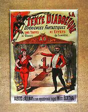 La Tente Diabolique Magnet - Magician Mystic Magic Illusion Alexis d'Aulnay