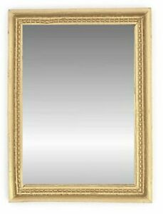 Wall Mirror Miniature Dollhouse Mirror 1:12 Scale New