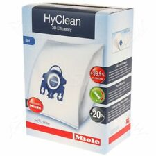 Genuine Miele HyClean 3D Efficiency GN Vacuum Cleaner Bags - 4 bags + 2 Filters