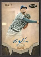 2019 Topps Tier One Baseball Break Out AUTO #BA-WA Willy Adames /250