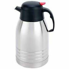 Stainless Steel Vacuum Coffee Pot 2 Qt. Size Heavy Quality