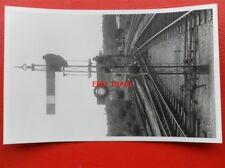 PHOTO  LSWR SIGNAL - UP STARTER & SIDING  SIGNAL MIDHURST 25/9/54