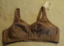 American Breast Care Women's Wire Free Rose Contour Bra SH3 Cocoa Size 44B NWT