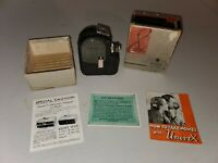 Vtg Univex Cine Camera 8 MM Model A-8 W/ Original Box & Paperwork Free Shipping