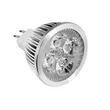 NEW MR16 4 LED 4W Warm White AC DC 12V Light Bulb Bright Spot Lamp Globe CO99