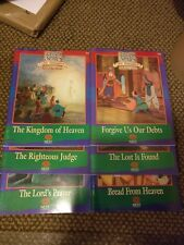 6 NEST Animated Stories from the Bible Activity Books Reproducible Jesus NT