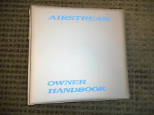 2001 Airstream Limited Excella Classic Travel Trailer owners with window sticker