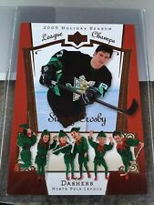 Sidney Crosby 2005 Upper Deck Holiday Season Jumbo Greeting Card Rookie Year !!!
