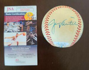 RARE Boston Red Sox 8x Multi Auto Signed OAL MLB Baseball Varitek Lowe JSA COA