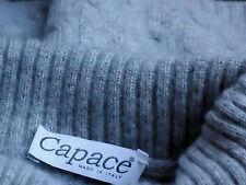 CAPACE,Italy S/sGrey10%CashmereMixTurtleNeck SizeS