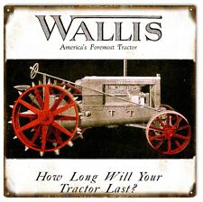 Wallis America's Tractor Farmers Country Sign
