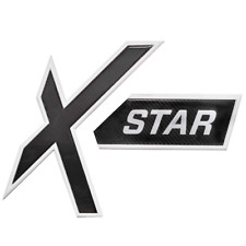 MasterCraft Boat Raised Decal Emblem 7502101   X Star White Black