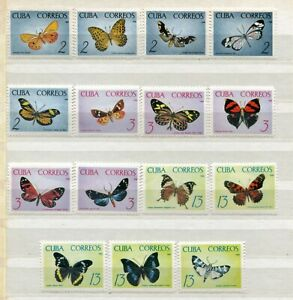 FAUNA_992 1965 butterflies 15 pc MLH Combined payments & shipping