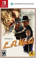 LA Noire [Nintendo Switch Rockstar Games Mystery Crime Thriller Adventure] NEW