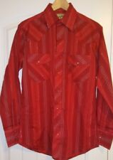 Wrangler Men's Fashion Long Sleeve Western Snap Shirt NEW Without Tag Small