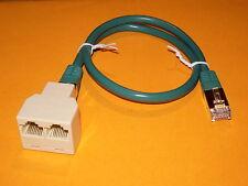Splitter Doubleur Coupleur Ethernet RJ45  avec cordon 1,5 m