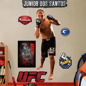 "Junior Cigano Dos Santos FATHEAD Real Big 2'5"" x 6'4"" Lifesize +UFC EXTRA LOGOS"