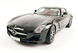 Premium Classixxs Modelauto Mercedes-Benz SLS AMG Coupe Obsidian Black 1:12