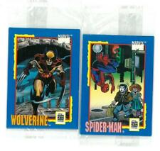 SIP Marvel Safety Trading Card Treats Impel 1991 Spider-man Wolverine She-Hulk!