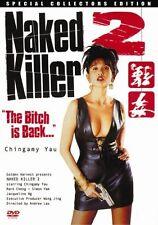 Naked Killer 2 -Hong Kong RARE Kung Fu Martial Arts Action movie - NEW