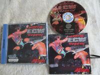 ECW Hardcore Revolution / CIB / Sega Dreamcast Game / Tested / PAL
