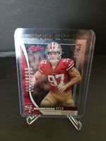 2019 Nick Bosa absolute red foil writing Rookie Card #131 MINT CONDITION VERY