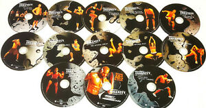 Insanity Deluxe Home Workout 13 DVD's Best Set Ever