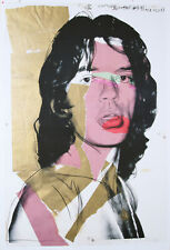 Andy Warhol - Mick Jagger - Farboffsetlithografie nach dem Original Multiple