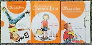 CLEMENTINE 3 CHAPTER BOOK LOT TALENTED FAMILY MEETING PB MARLA FRAZEE FREE SHIP
