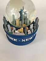 LARGE Musical New York City Snow Globe NYC Skylines & Statue of liberty